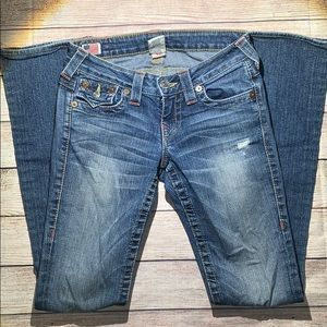 True Religion Becky Bootcut Jeans Size 24
